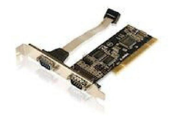 Placa Pci 2 Portas Seriais - Comtac Modelo Pc I9015