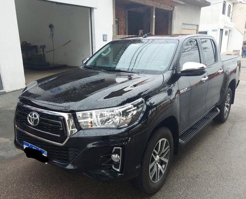 Imagem 1 de 8 de Toyota Hilux 2019 2.8 Tdi Srv Cab. Dupla 4x4 Aut. 4p
