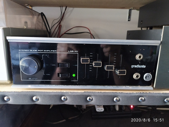 Amplificador Gradiente Lab-40