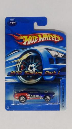 Hot Wheels 1970 Mustang Mach 1 1:64 Envio Gratis