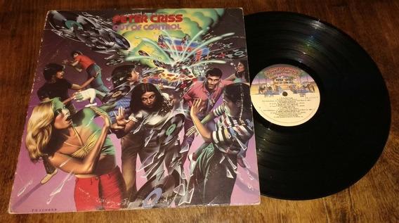Peter Criss Out Of Control Vinilo Disco Lp Usa