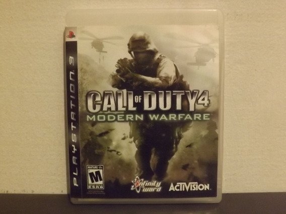 Ps3 Call Of Duty Modern Warfare 1 - Completo - Aceito Trocas