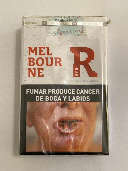 Cigarrillos Melbourne Originales Comun Pack X 10