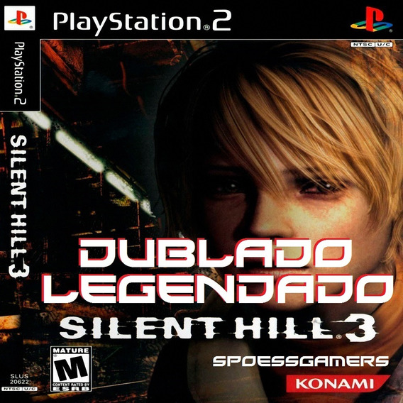 Silent Hill 3 Dublado E Legendado Ps2 Desbloqueado Patch