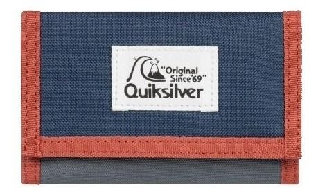 Billetera Quiksilver Velcro The Everydaily Cod 2202128019