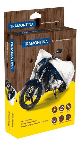 Capa Impermeável Para Moto Tamanho P 43782001 Tramontina