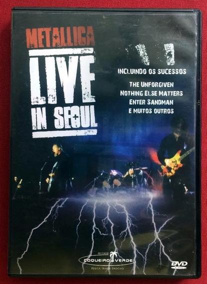 Dvd Metallica Live In Seoul 2006 Original