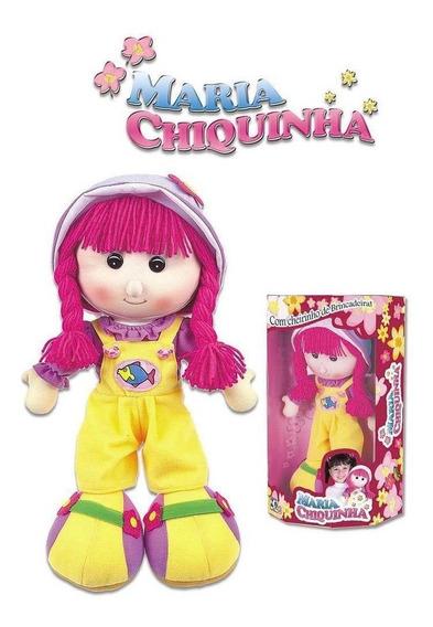 Boneca De Pano Maria Chiquinha Grande - Braskit