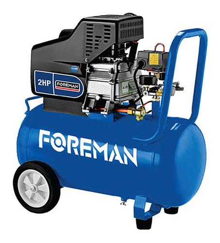 Compresor 50lt 2.0hp C/ruedas Foreman 2 Años Garantía Tconvi