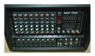 Consola Mixer Potenciada Moon 5508 - Salas Lpm Villa D Parqu