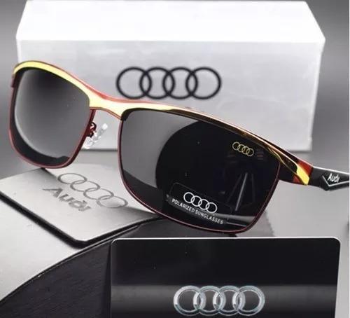 Óculos De Sol Audi Edição Especial Aviador+ Estojo Completo