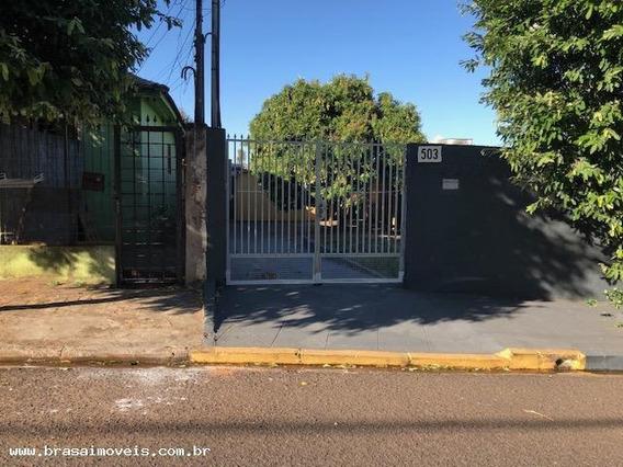 Casa Para Locação Em Presidente Prudente, São Judas, 2 Dormitórios, 1 Banheiro, 1 Vaga - 00523.001