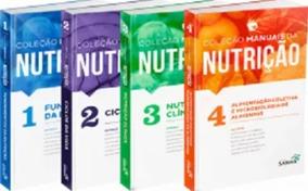 Coleção Manuais Da Nutrição Para Concursos E Reside. 1 2 3 4