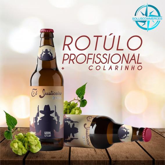 Criação De Rótulos Para Cervejas Artesanais Ou De Eventos