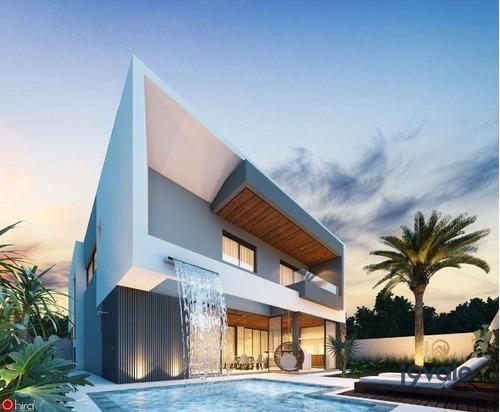 Casa Com 4 Suites Em Condomínio De Luxo No Urbanova! - Ca2027