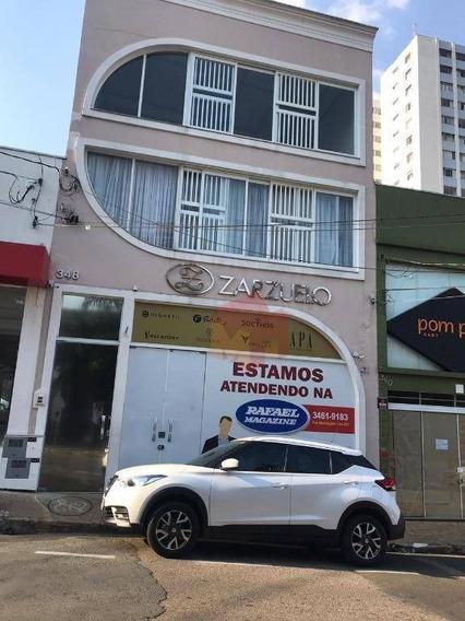 Salão Para Alugar, 290 M² Por R$ 8.000,00/mês - Centro - Americana/sp - Sl0072