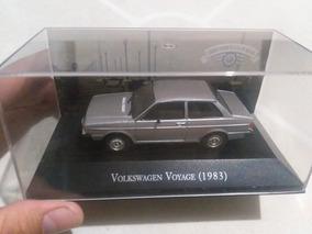 Volkswagen Voyage 1983 Escala 1/43 Carros Inesquecíveis
