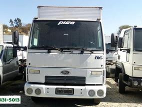 816 Cargo - Branca - 2012/13 - Baú - R$ 75.900,00