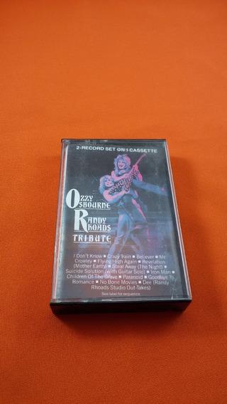 Ozzy Osbourne Randy Rhoads Tribute Fita K7 Importada