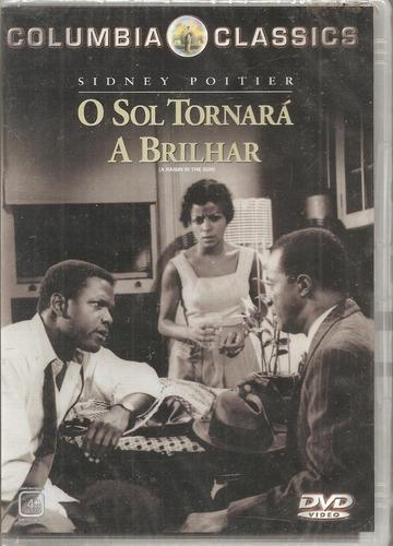 Dvd O Sol Tornará A Brilhar ( A Raisin In The Sun ) - Sidney