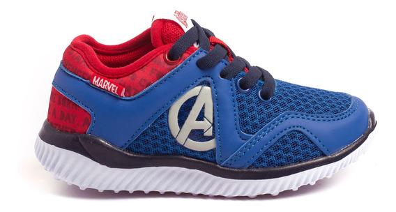 Zapatillas Atomik Marvel Heroes Spiderman-mvl011azu- Open Sp