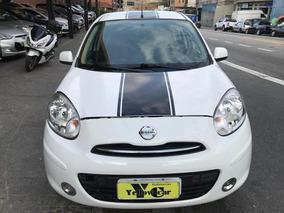 Nissan March S Rio 1.6 Flex 2013 Completo Rodas Cd Oferta