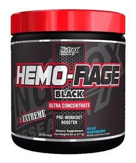 Pré Treino - Hemo Rage- Black - 30 Doses