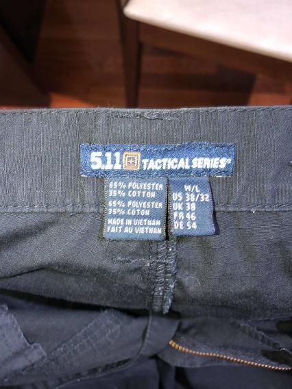 Pantalón 5.11 Negro Tipo Cargo