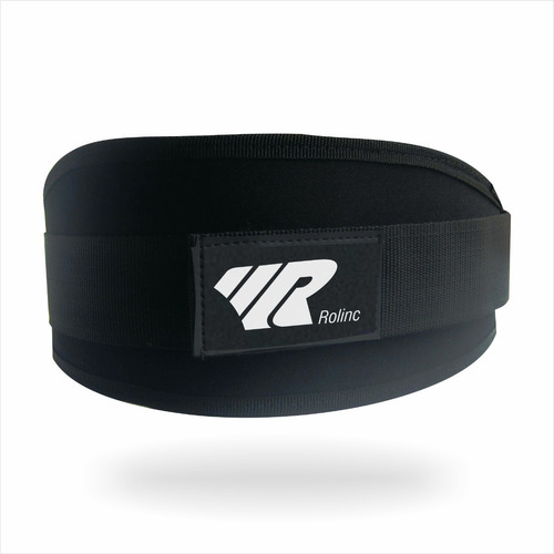 Cinturon Para Pesas Gimnasio Poliéster Ajustable Con Velcro