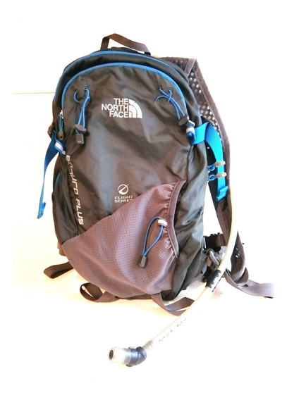 Bolso Gris Y Azul Torrent 4 The North Face !!
