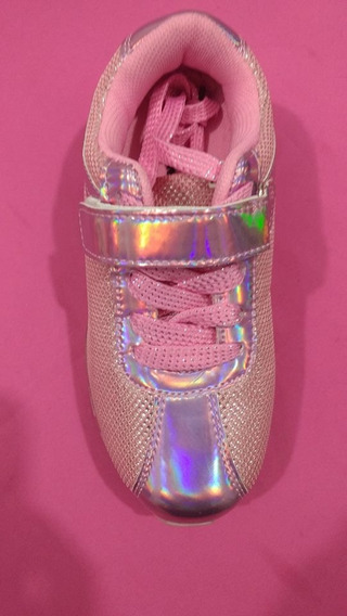 Zapatillas Led Super Oferta Importadas Vs Colores Cable Usb!