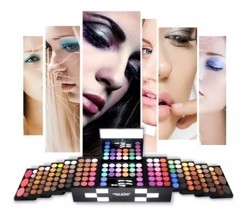 Set De Maquillaje Miss Rose 142 Colores