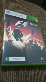 F1 2011 Xbox 360 Original Fisica