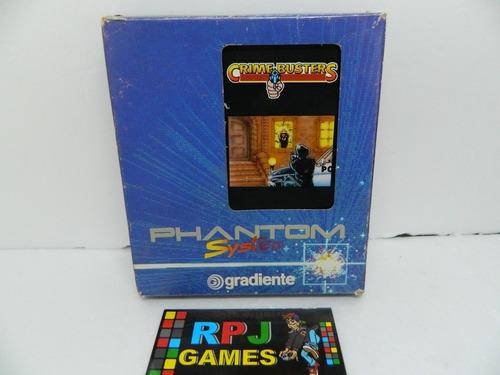 Crime Busters 72 Pinos Original Phantom System Gradiente Nes