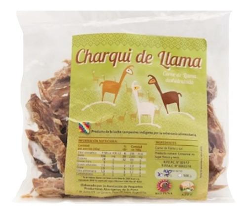 Charqui De Llama. Producto De La Puna Argentina. 250 Grs