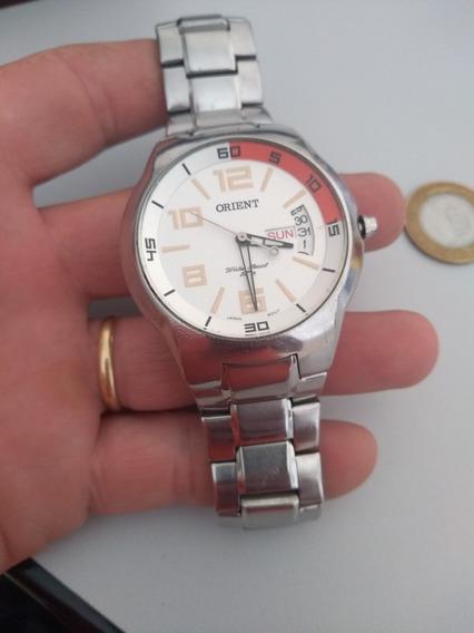 Relógio Orient Em Aço Inoxidável Lindo