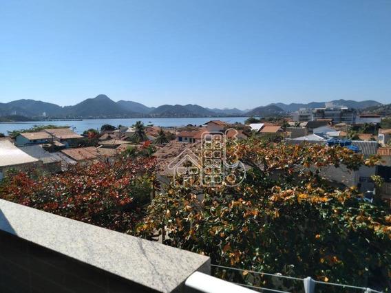 Apartamento Com 1 Dormitório À Venda, 65 M² Por R$ 450.000,00 - Piratininga - Niterói/rj - Ap3473
