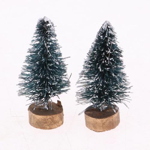 Imagen 1 de 4 de 20 Piezas Dollhouse Miniatura Árbol De Navidad