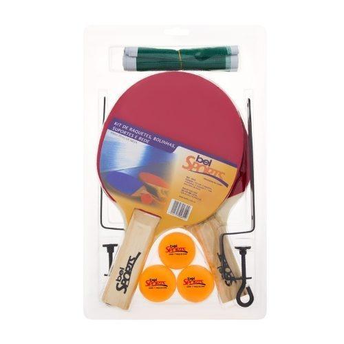 Ping Pong 2 Raquetes 3 Bolinhas Rede Tenis De Mesa Domicilio