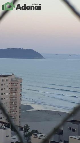 Imagem 1 de 15 de Apto. Em Praia Grande, 2 Dorms. Sendo 1 Ste. Com Vista Para O Mar - 982