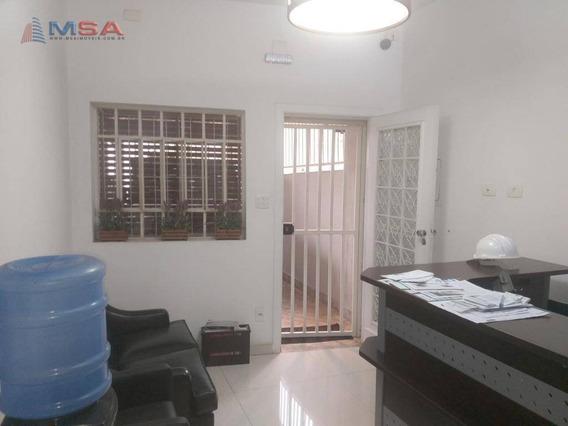 Casa À Venda Em Perdizes, Comercial Ou Residencial, Com 88,00 M² At, 4 Salas E 1 Vaga De Garagem - Ca0908