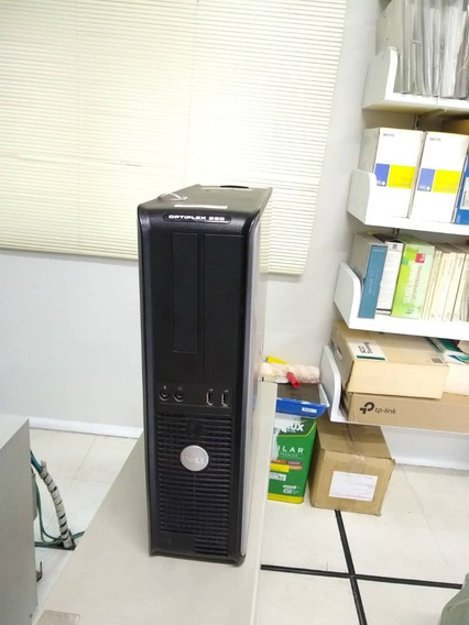 Cpu Computador Dell Optiplex 330 Core 2 Duo 2 Gb Mem 80hd