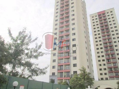 Imagem 1 de 17 de Ref 10.437 Excelente Apartamento No Bairro Brás, Com 2 Dorms, 1 Vaga, 57 M² Lazer Completo. Aceita Permuta. - 10437