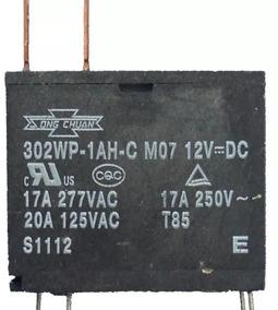 Relê Microondas 12v X 17a 302wp-1ah-c M07 10 Peças
