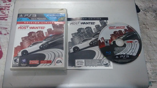 Need For Speed Mostwanted Completo Play Station 3