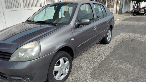Renault Clio Sedan 2007 1.6 16v Expression Hi-flex 4p