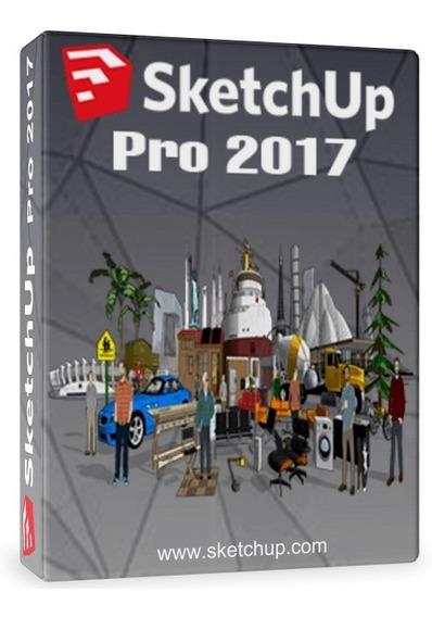 Sketchup Pro 2017 + V- Ray 3.4 Original Licencia Permanente