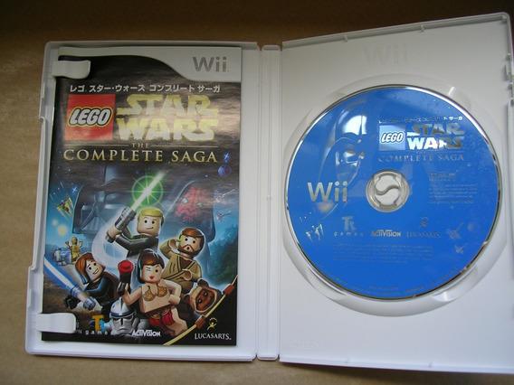 Lego Star Wars The Complete Saga Japones Original Completo
