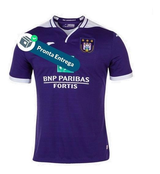 Camisa Anderlecht 1º Unif. 19/20 - Pronta Entrega