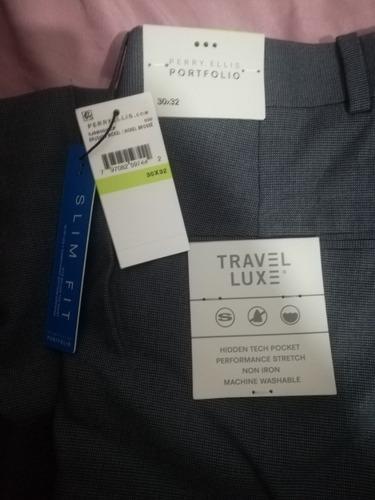 Pantalon De Vestir Perry Ellis Original Talla 30x32 Hombre Mercado Libre